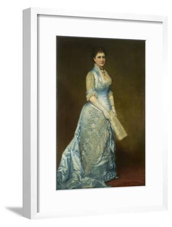 Portrait of Emma Thursby (1845-1931), 1879