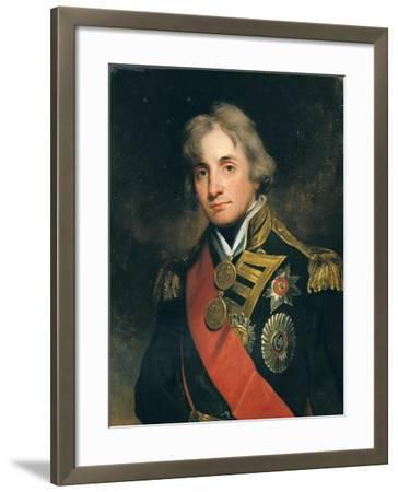 Portrait of Nelson (1758-1805)