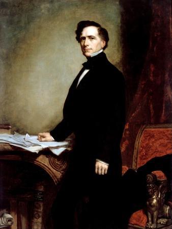 Portrait of President Franklin Pierce, 1858
