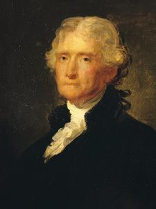 Thomas Jefferson (1743-1826) Third President of the United States of America (1801-1809) by George Peter Alexander Healy