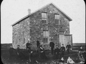 A Settler's Abode, Canada, Late 19th Century by George Philip & Son