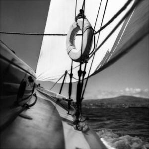Vogue - June 1947 - Ocean View by George Platt Lynes