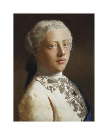 George, Prince of Wales, 1754-Jean Etienne Liotard-Premium Giclee Print
