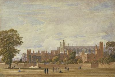 Eton College from College Field by George Pyne