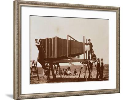 George R. Lawrence's--Framed Photographic Print
