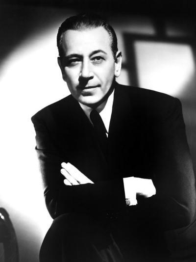 George Raft, Early 1950s--Photo