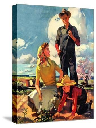 """""""Farming Family,""""April 1, 1943"""