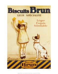 Biscuits Brun by George Redon