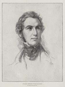 An Early Portrait of Mr Gladstone by George Richmond