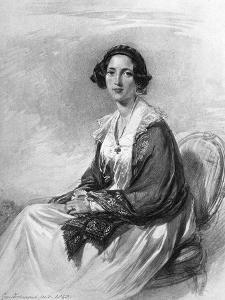 Catherine Gladstone, Wife of William Ewart Gladstone by George Richmond