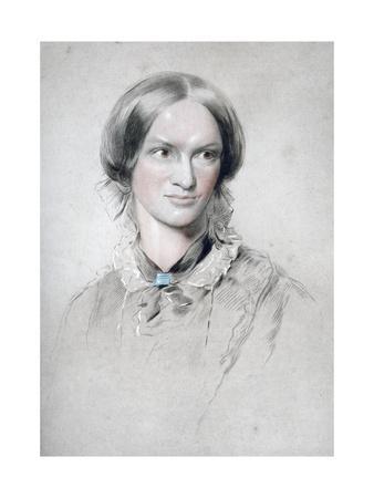 Charlotte Bronte, English Novelist, 1850