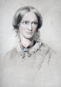 Charlotte Bronte, English Novelist, 1850 by George Richmond