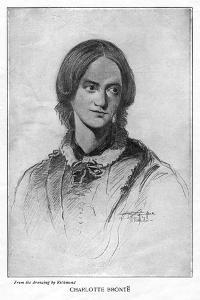 Charlotte Brontë, English Novelist, 1906 by George Richmond