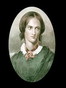 Charlotte Bronte, English Novelist, Mid-19th Century by George Richmond