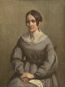 Portrait of a Young Woman by George Richmond