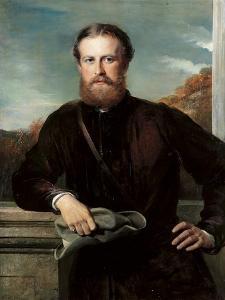Portrait of John Scott, 3rd Earl of Eldon by George Richmond