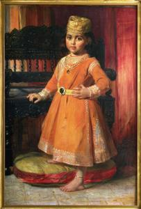Portrait of Prince Albert, Eldest Son of the Maharaja Duleep Singh, 1870 by George Richmond