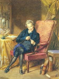 Portrait of William Wilberforce by George Richmond
