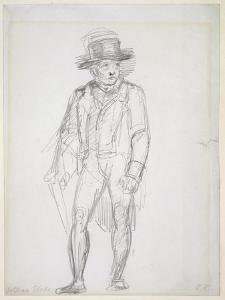 William Blake Walking by George Richmond