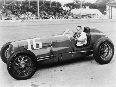 George Robson Was the Winner of the 1946 Indianapolis 500--Photo