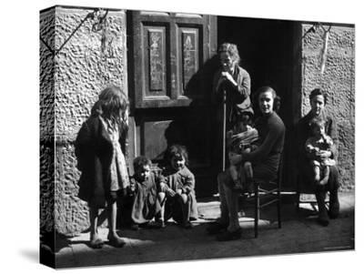 Italian Women and Children Left to Fend for Themselves After Germans Took Their Men for Labor