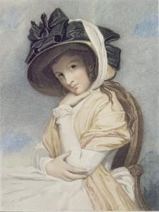 Emma, Engraved and Pub. by John Jones (C.1745-97), 1785 (Stipple) by George Romney