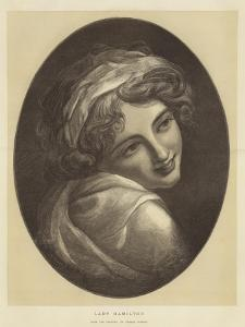 Lady Hamilton by George Romney
