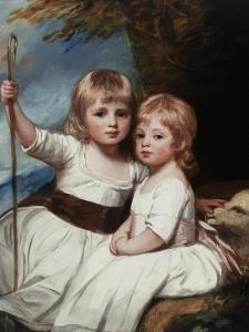 Mary and Louise Kent, C.1784-84 by George Romney