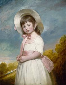 Miss Juliana Willoughby, 1781-83 by George Romney