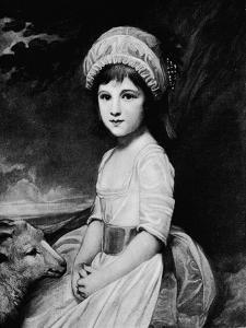 'Miss Martindale', c1781, (1912) by George Romney