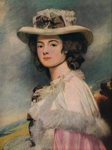 'Mrs. Davies Davenport', 1782-1784 by George Romney