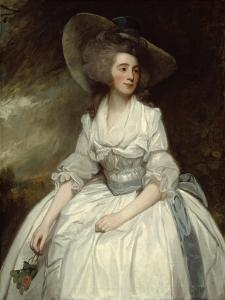 Mrs. Francis Russell, 1785-87 by George Romney