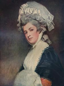 'Mrs Mary Robinson', 1780-1781 by George Romney