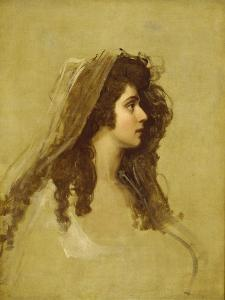 Mrs Siddons, C.1784 by George Romney