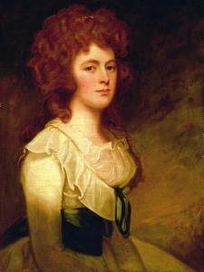 Portrait of Catherine Chichester by George Romney
