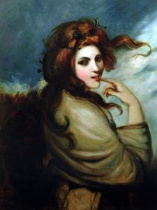 Portrait of Emma Hamilton (C.1765-1815) by George Romney