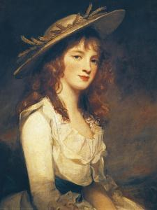 Portrait of Miss Constable, 1787 by George Romney