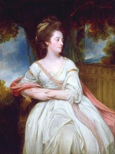 Portrait of Mrs North by George Romney