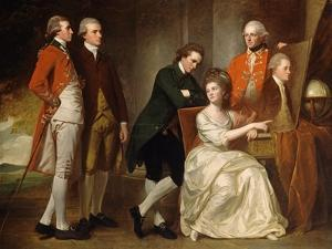 The Beaumont Family by George Romney