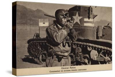 George S Patton, American General, World War II