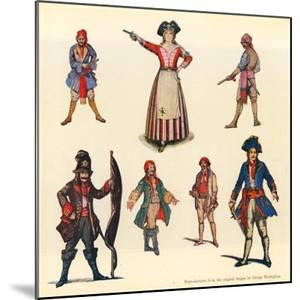 Designs for the Pirates of Penzance by George Sheringham