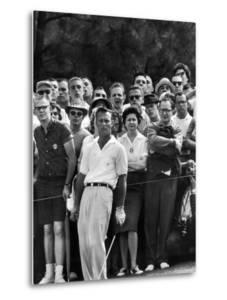 Arnold Palmer After Winning the Masters Tournament by George Silk