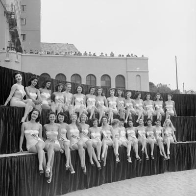First Miss Universe Contest, Long Beach, CA, 1952