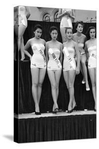 First Miss Universe Contest, Miss Hong Kong Judy Dan, Long Beach, CA, 1952 by George Silk
