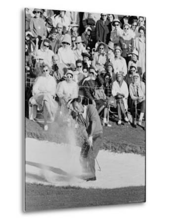 Golf Player Arnold Palmer, Blowing His Lead on the 18th Hole in the Master's Golf Tournament
