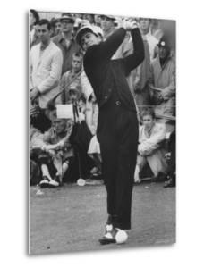 Masters Golf Tournament Winner Gary Player, Teeing Off by George Silk