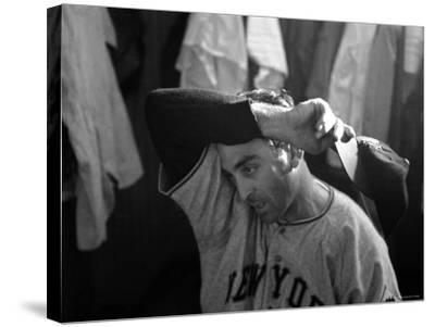New York Giants Pitcher Sal Maglie
