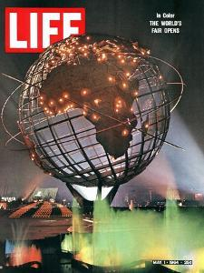 New York World's Fair, May 1, 1964 by George Silk