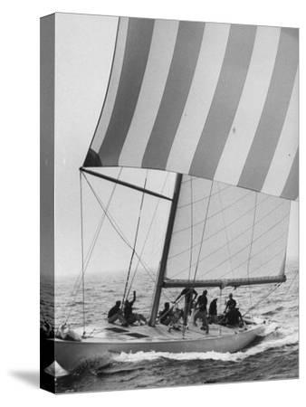 The American Eagle During America's Cup Race