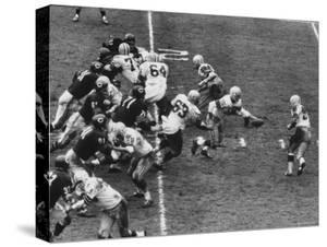 The Green Bay Packers Playing a Game by George Silk